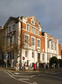Ealing, Acton Town Hall, London © Alan Murray-Rust